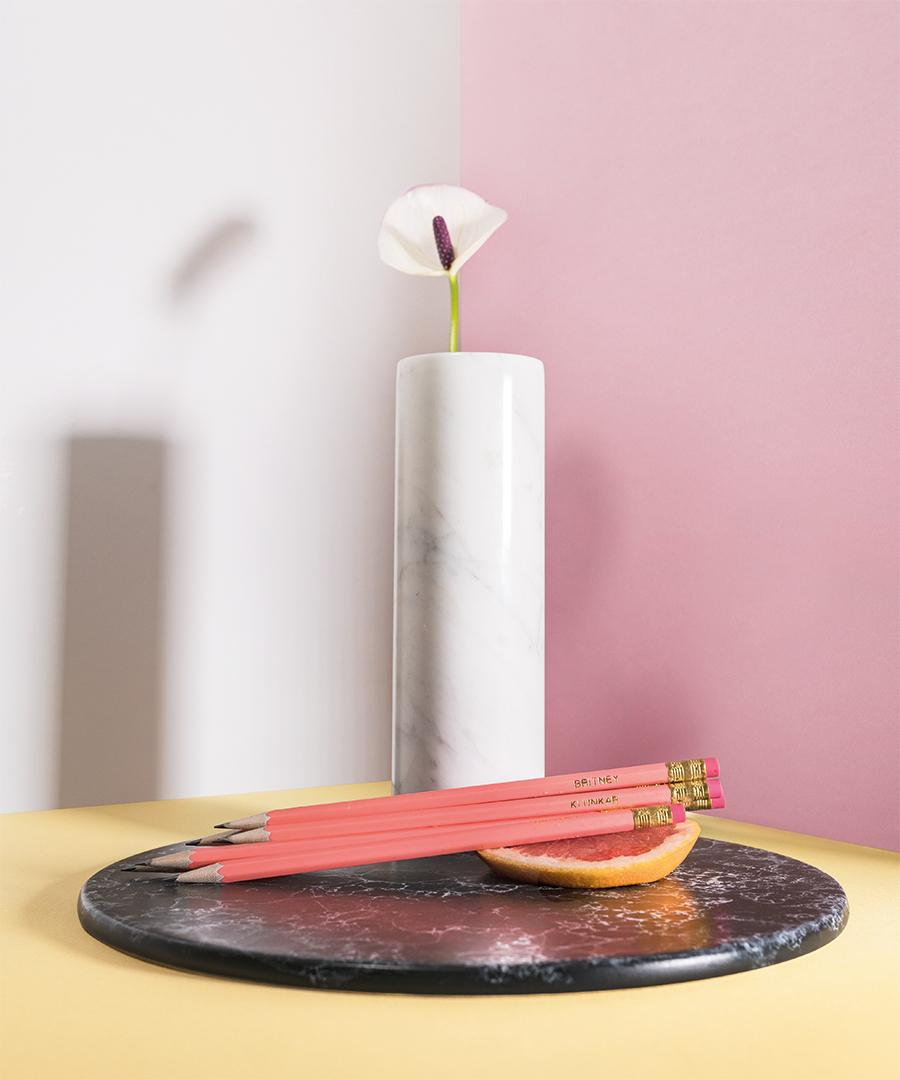 Imagefotografie und Produktfotografie für die Statement Bleistifte für Klunkar by Stanglechner Thomas.